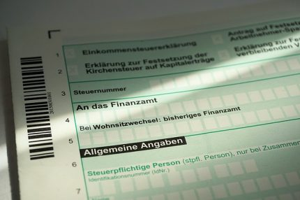German income tax returns for foreigners with income from German sources