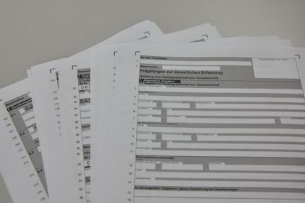 Steuernummer beantragen mit der Benefitax GmbH